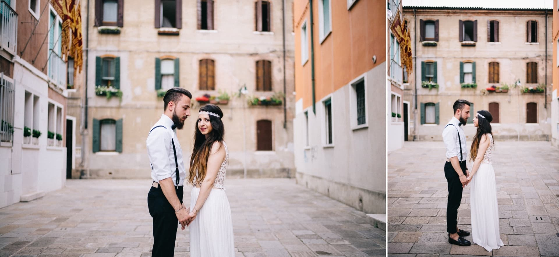 Brautpaar in Venedig