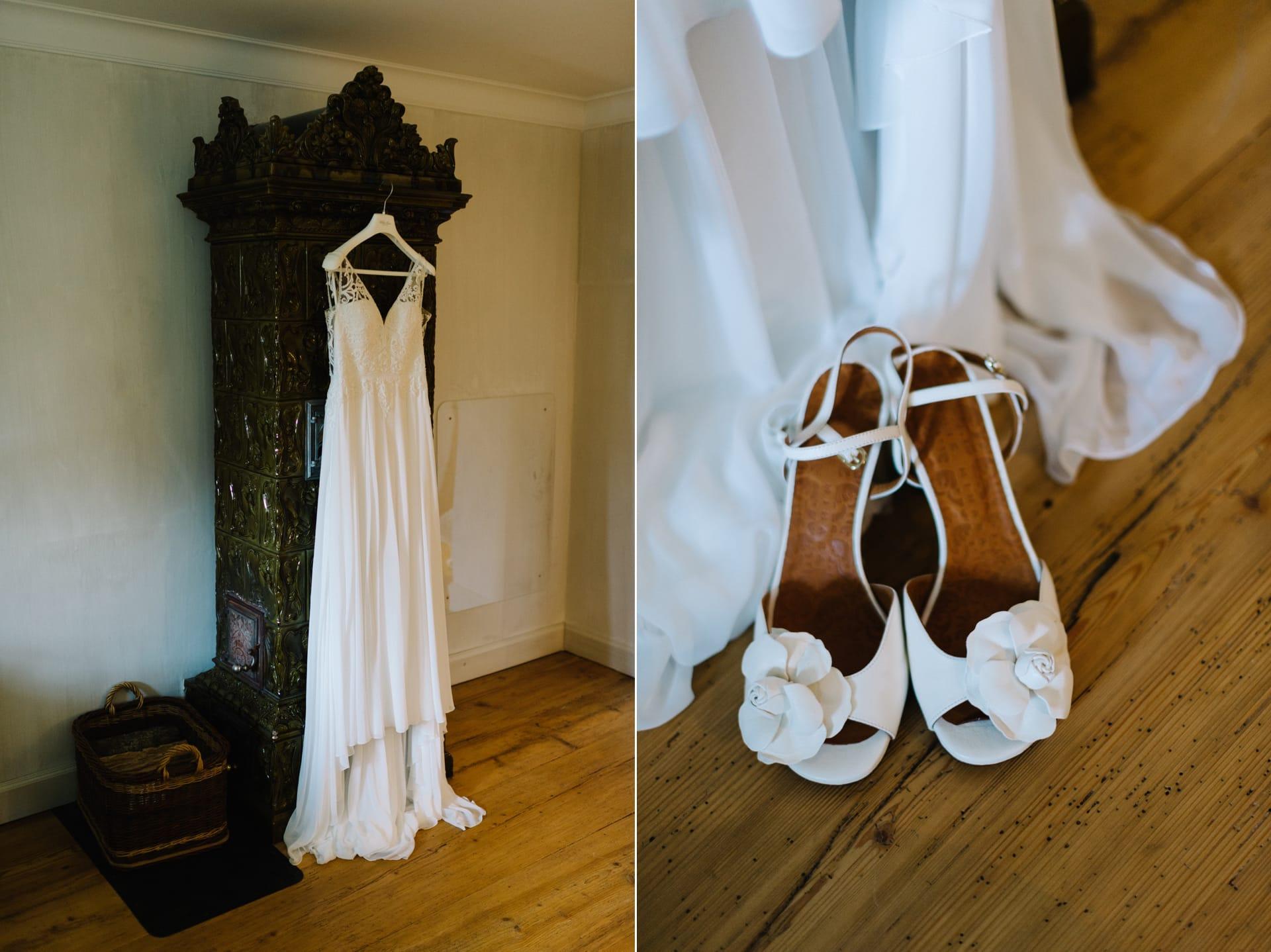Brautkleid von Pronovias.
