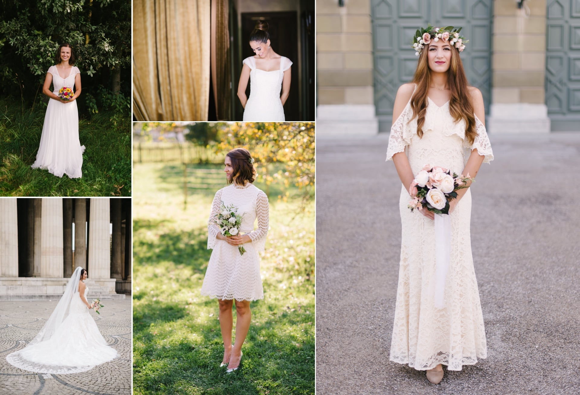 Inspiration für dein Brautkleid